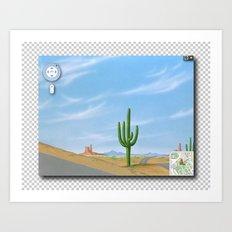Google Street View Art Print