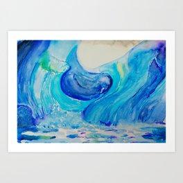 ICE OF GREENLAND Art Print