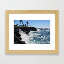 Hawaiian Vibes Framed Art Print