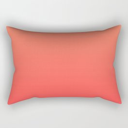Tangerine Gradient Rectangular Pillow