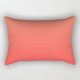 Tangerine Gradient Rectangular Pillow