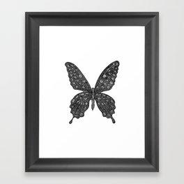 BUTTERFLY2 Framed Art Print