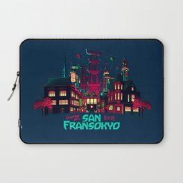 Greetings from San Fransokyo Laptop Sleeve