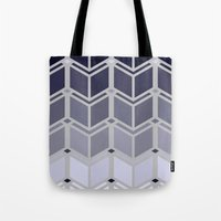 art deco Tote Bags featuring Deco-Art by Pure