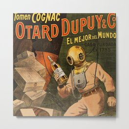 1910 Cognac Otard Dupuy Cornac Advertisement Poster Metal Print