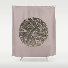 ball of string Shower Curtain