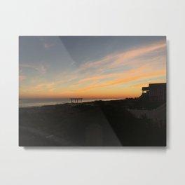 Honeymoon Sunset Metal Print