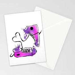 Romance of the Shoe Stationery Cards