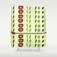 kitchen Shower Curtains featuring Kitchen design by LoRo  Art & Pictures