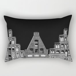 Lunenburg Skyline Rectangular Pillow