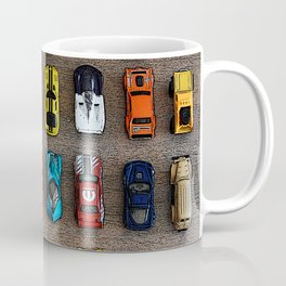 1980's Toy Cars Coffee Mug