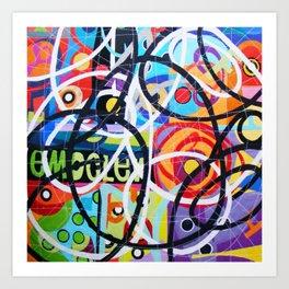 Any Colour U Like 6 Art Print