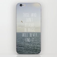 Those who don't believe... iPhone & iPod Skin