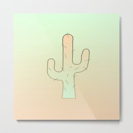 Cactus Male Metal Print