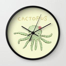 Cactopus Wall Clock