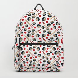 Sushi lovers pattern Backpack