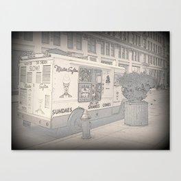 NY Ice Cream Canvas Print