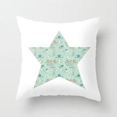 Empowering Star Throw Pillow