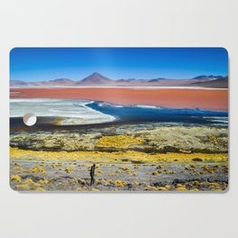 Laguna Colorada Cutting Board