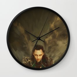 Descension Wall Clock