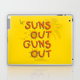 Guns Out Laptop & iPad Skin