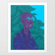High-flyer Art Print