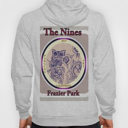 Design by Steph Darling at The Nines Tattoo and Art Parlor  Hoody