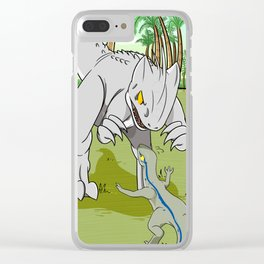 Domain the beasts Clear iPhone Case
