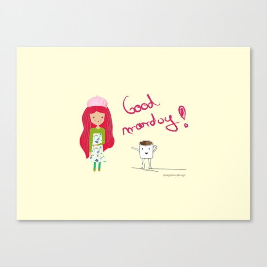 Good Monday Canvas Print