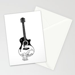 The intriguing sounds of nature Stationery Cards