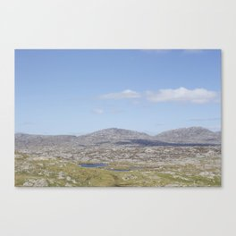 Golden Highway Lewis and Harris 3 Canvas Print