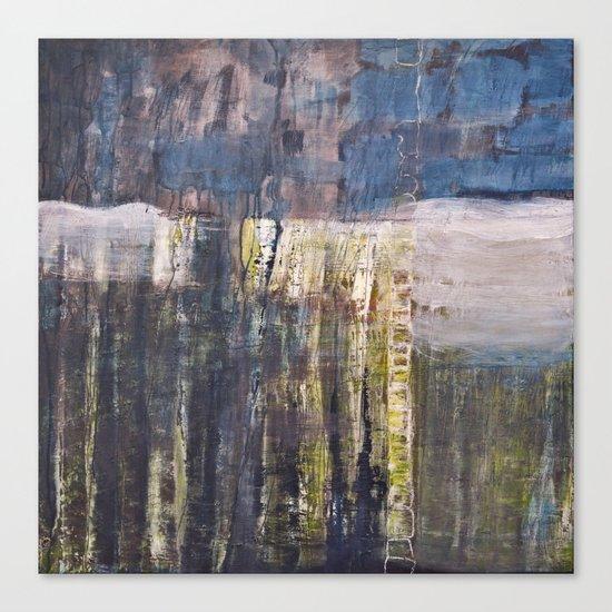 bluegreen  Canvas Print