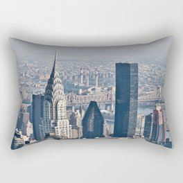 Chrysler Building New York Rectangular Pillow