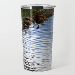 Water's Edge at Walden Pond Travel Mug