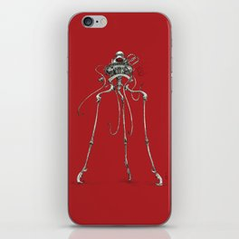 Martian Tripod Queen: Mars Red iPhone Skin