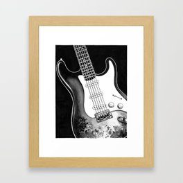 Stratocaster Framed Art Print