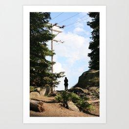 Sierra Stranger Sky Art Print