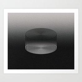 Grey Matter Art Print