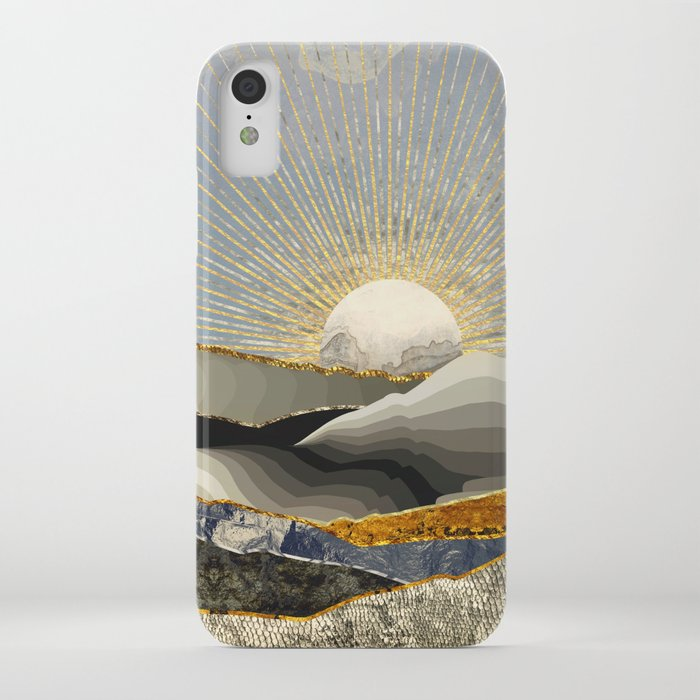 morning sun iphone case