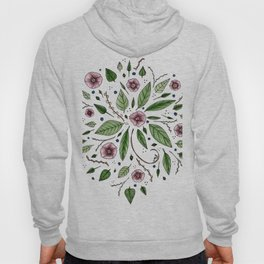 Hanging Among the Flowers & Leaves Hoody