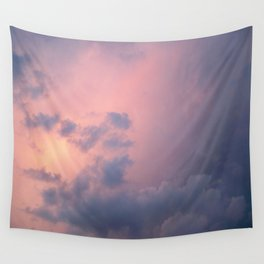 Peaceful Clouds Wall Tapestry