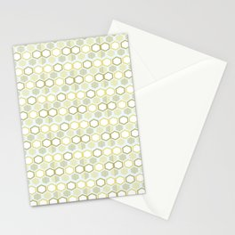 Pattern rhombus losange Stationery Cards