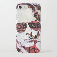 bats iPhone & iPod Cases featuring Bats by Matt Pecson