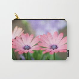Twin osteospermum flowers Carry-All Pouch