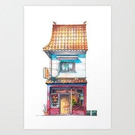 Tokyo Storefront #04 Art Print