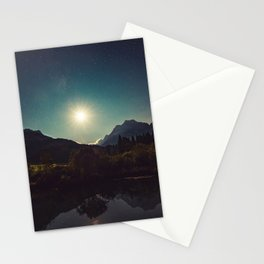 Moonshine, Stars and Nature Stationery Cards