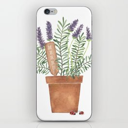 Lavender & Rosemary iPhone Skin