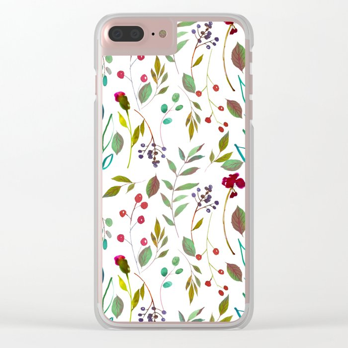 Spring is in the air #43 Clear iPhone Case