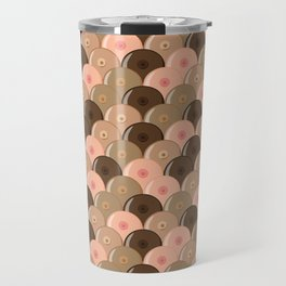 all over boobs diverse Travel Mug