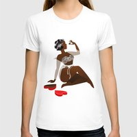 chocolate T-shirts featuring Chocolate by Mira Maijala